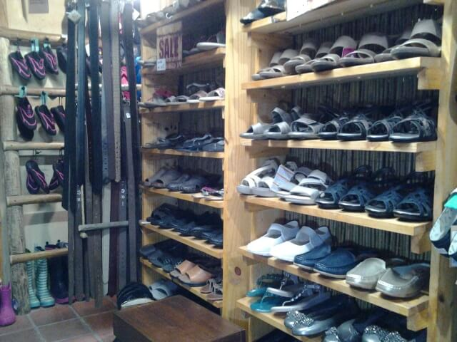 Large variety of Ladies shoes