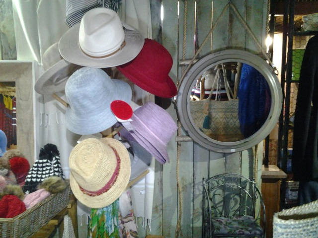 Ladies Hats at the Matchbox